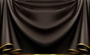 black backdrop curtains pleated black curtain backdrop