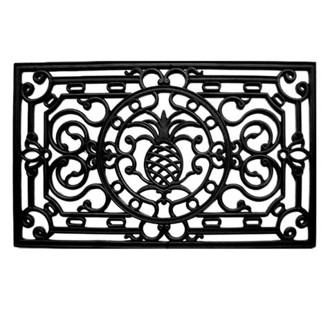 Rubber Scroll Doormat by Trafficmaster Scroll 24 In X 36 In Coir And