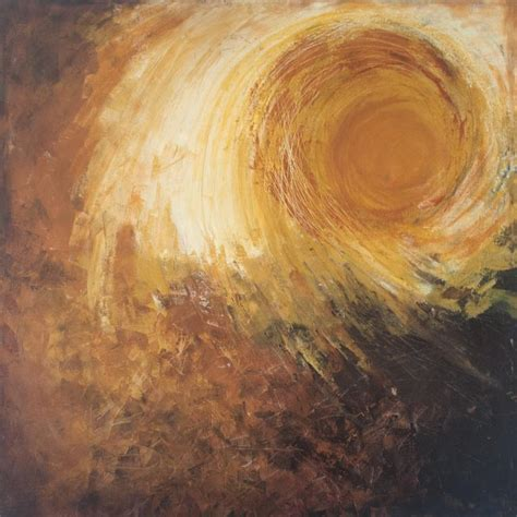Abstract Sun by Sanjay Akolikar   Painting at ArtZolo.com