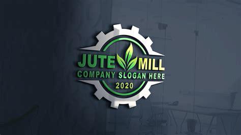 jute company logo template graphicsfamily