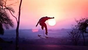 Skateboard Wallpaper for Desktop - WallpaperSafari