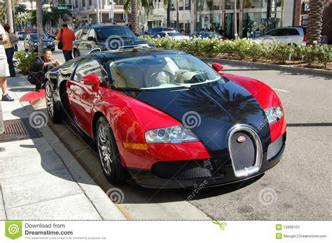 Bugatti On Rodeo Drive Editorial Photo