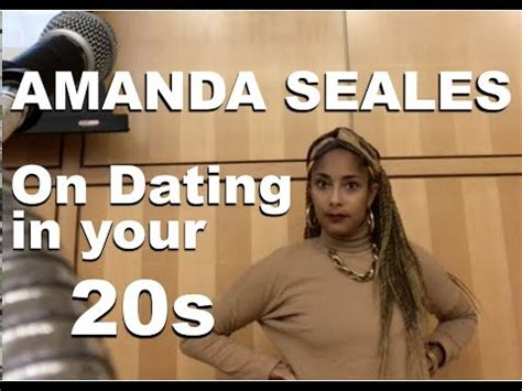 amanda seales talks dating advice    hofstra