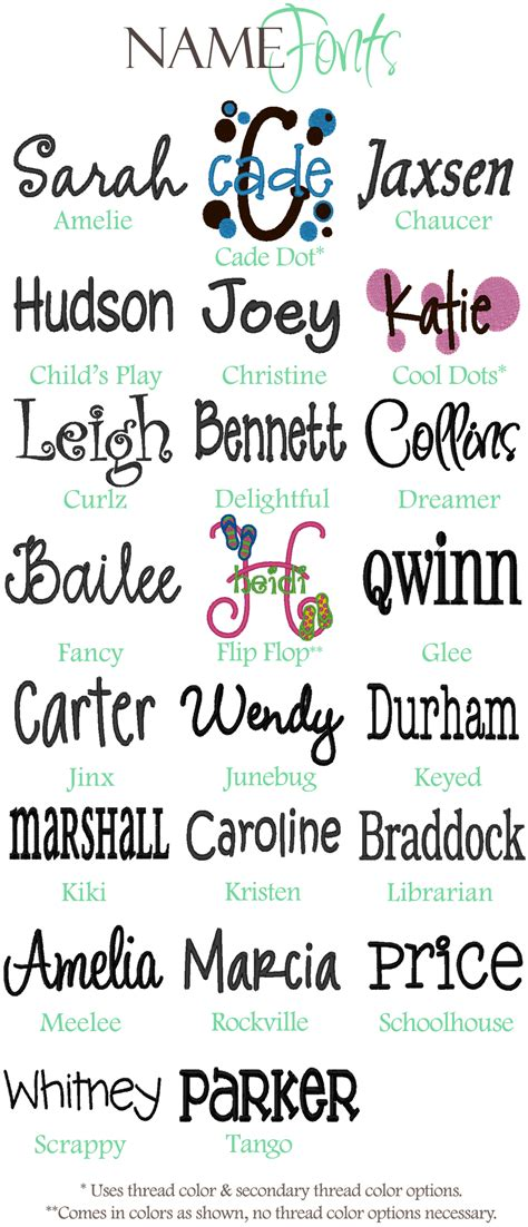 embroidery font styles 2017 2018 best cars reviews