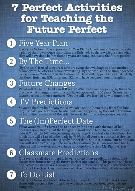 7 great activities for teaching the future