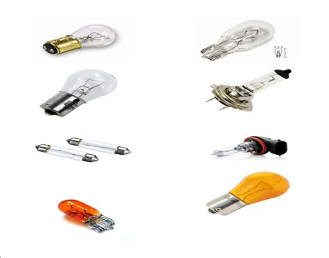 List Of Automotive Light Bulb Types