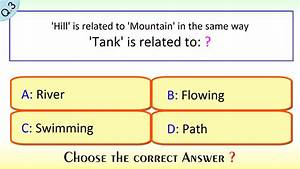Click How  Verbal Reasoning Mental Ability Test