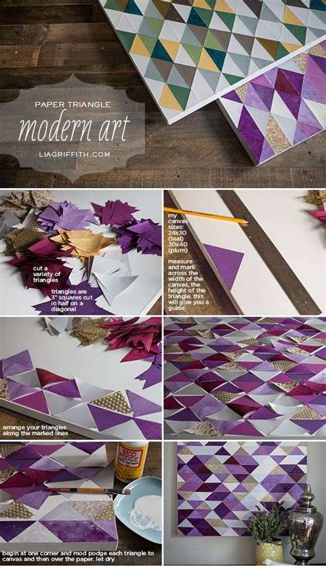 simply brilliant diy paper wall art projects