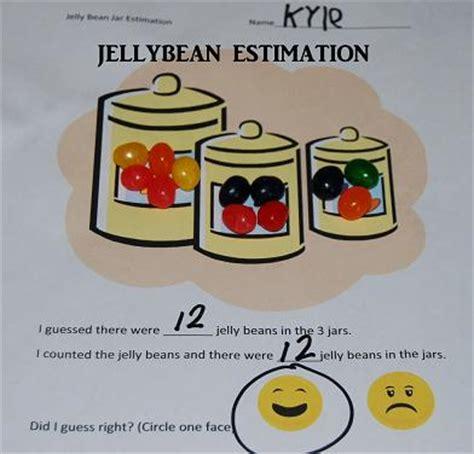 5 jelly bean math activities for preschool and kindergarten 873 | Jellybean Estimation