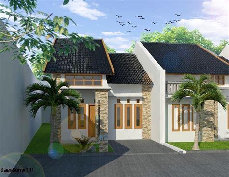 desain rumah minimalis  lantai  bentuk tanah tak