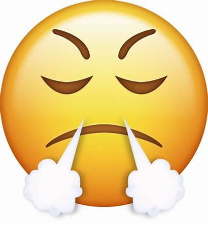 Emoji Angry Mad Iphone Smiley Very Anger