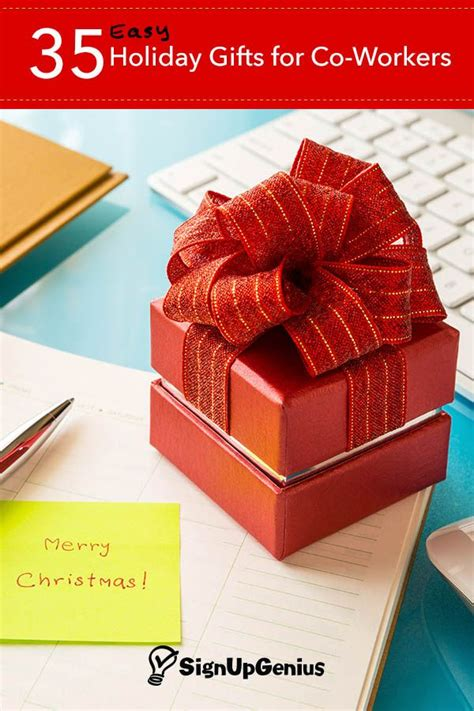 35 easy christmas and holiday gift ideas for co workers