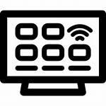 Smart Tv Icon Television Icons Led Flaticon