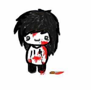 jeff the killer chibi by aguush-crazy-pixl on DeviantArt