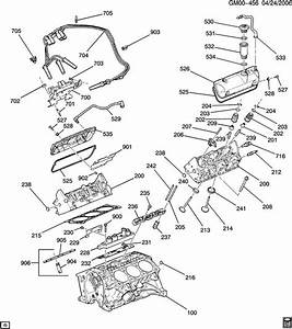 Chevrolet Impala Manifold  Engine Valve Rocker Arm