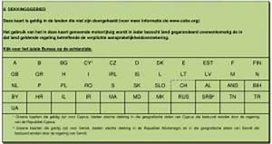 Carte Verte Assurance : pourquoi faut il laisser une carte verte dans votre voiture carguide ~ Gottalentnigeria.com Avis de Voitures