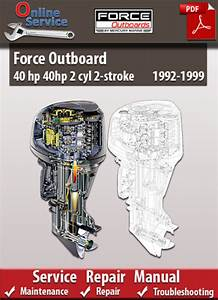 Force Outboard 40 Hp 2 Cyl 2