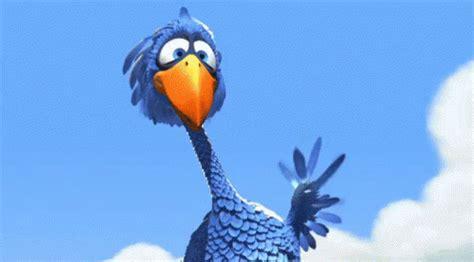 blue bird gifs tenor