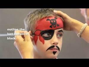 Maquillage Pirate Halloween : pirate face painting maquillage pour enfants youtube ~ Nature-et-papiers.com Idées de Décoration