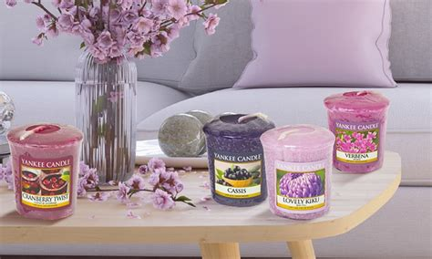 candele aromatiche fino a 84 su candele aromatiche yankee candle groupon