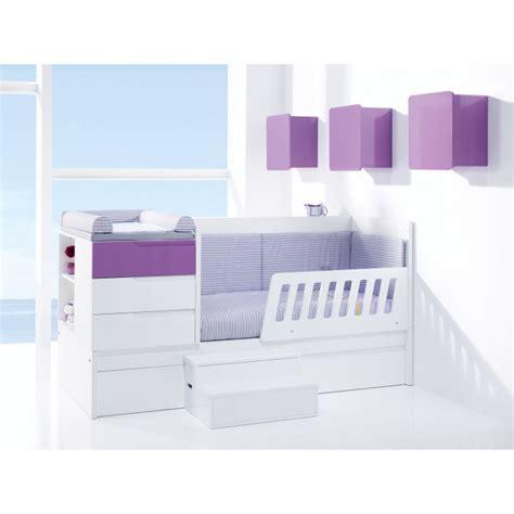 chambre de bébé évolutive lit bb volutif zero evolutive k 502 de alondra lit
