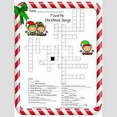 3rd Grade Grapevine Another December Freebie Favorite Christmas Songs