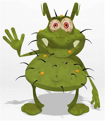 Germ Germs Bad Clipart Monster Library Clip