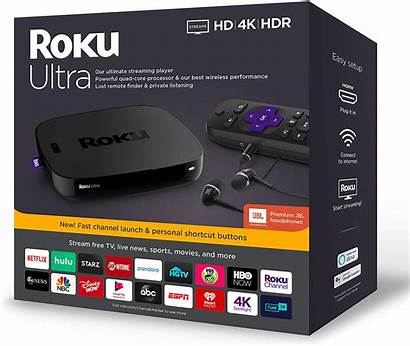 Roku Player Headphones Ultra Walmart Jbl Streaming