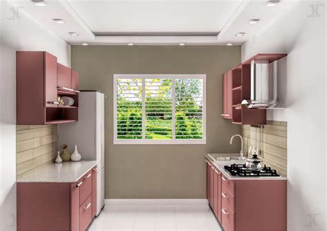 parallel kitchen design modular kitchen zaara enterprises 1414