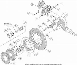 Wilwood Disc Brake Kit Front 73