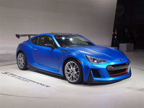 subaru coupe subaru brz by sti 300bhp coupe muscles into new york by