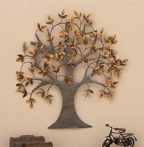 metal wall art tree of life leaves dream sculpture large With tree of life wall decor
