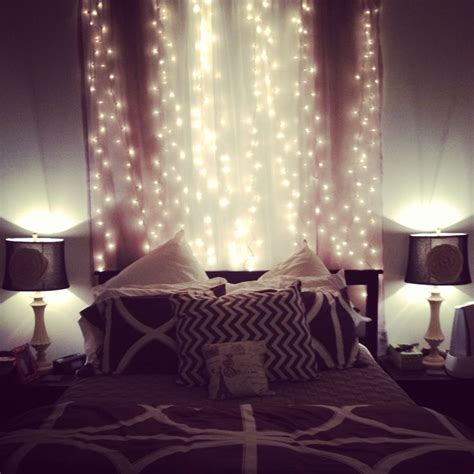bedroom fairy lights images  pinterest