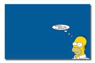 Homer Simpson Thinking Cartoon