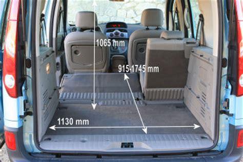 tablette siege arriere voiture test renault kangoo 1 5 dci 85 essai voiture compacte