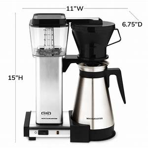 Moccamaster By Technivorm Manual Drip Stop Coffee Maker