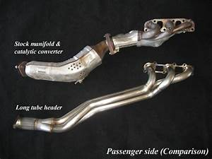 G37 Coupe Long Tube Headers  Fast Intentions