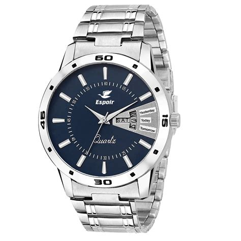 watches for men buy espoir analogue blue dial men 39 s watch latest0507