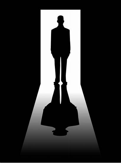 Shadow Shadows Doorway Dark Door Word Guy