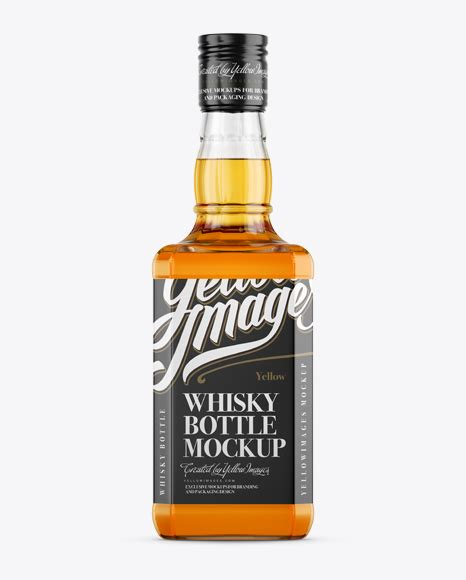 See more ideas about mockup, bottle mockup, mockup free psd. Clear Glass Whiskey Bottle Mockup - Front View - Clear ...