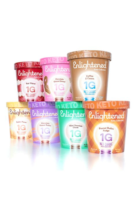 enlightened launched keto ice cream  flavors