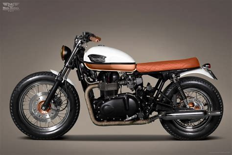 Bonneville T100 Custom By Ton-up Garage Portugal