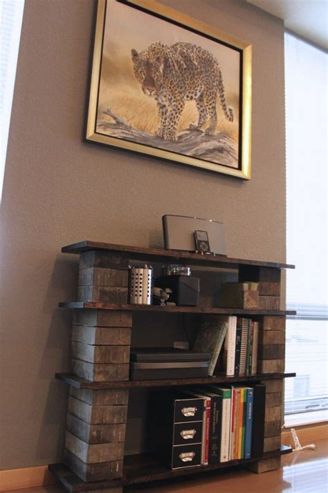 Diy Concrete Block Bookshelf  Shelving, The Crazy And