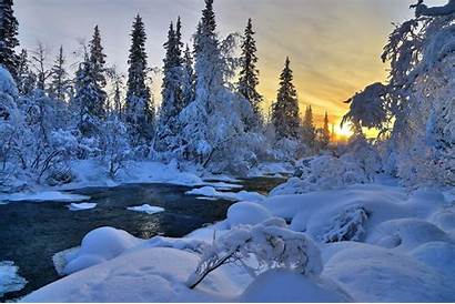 Winter 1080p Wallpapers Landscape Nature River Trees