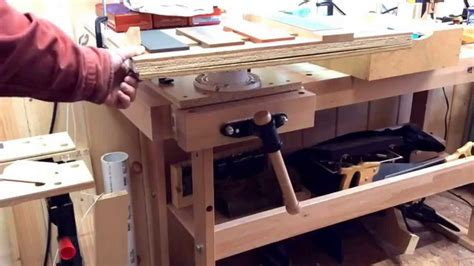 bench top luthier table youtube
