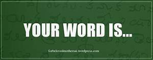 Your Word | For Beloved Mother Sai
