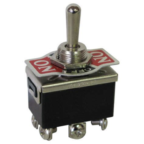 Dpdt Off Momentary Toggle Switch All Electronics