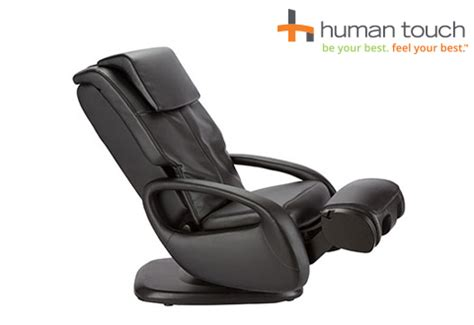 human touch chair recliner with foot and calf