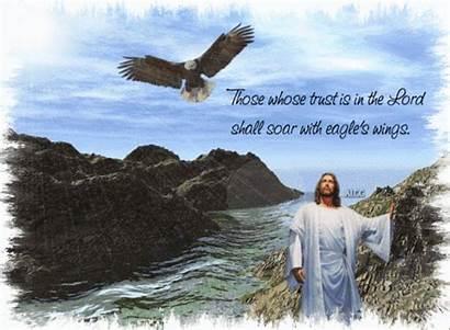Lord Jesus Helper Eagles Soar God Eagle