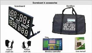 Quick Delivery Time Track And Field Sports Scoreboard